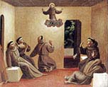 Apparition of Saint francis at arles