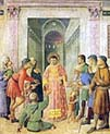 Saint Lawrence Distributing Alms