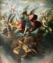 saint michael fighting with rebellious angels