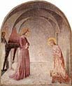 Annunciation with Saint Dominic