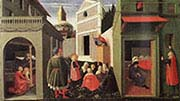 Perugia Triptych-The Birth of Saint Nicholas