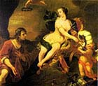Venus Presenting Aeneas with Armour from Vulcano's Smithy