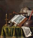 vanitas still life with hour glass