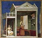 Annunciation of saint Anna