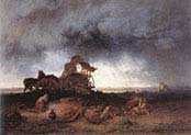 Storm at the Puszta