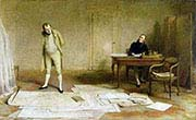 Napoleon Dictating to Count Las Cases