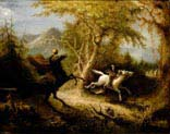 the headless horseman pursuing ichabod
