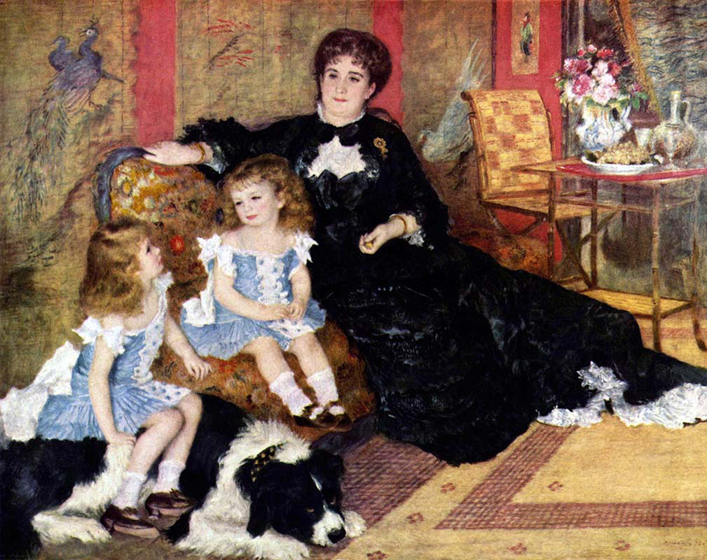 Mrs Charpentier and Children
