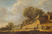 Landscape with a Peasant Cottage