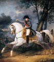 equestrian portrait of emperor napoleon one