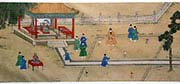 Ming Emperor Xuande Playing Golf